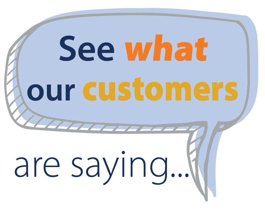 What our customers are saying...